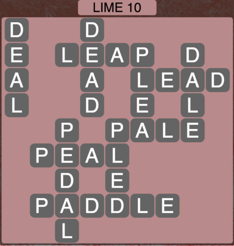 Wordscapes Lime 10 - Level 1578 Answers