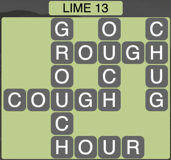 Wordscapes Lime 13 - Level 1581 Answers