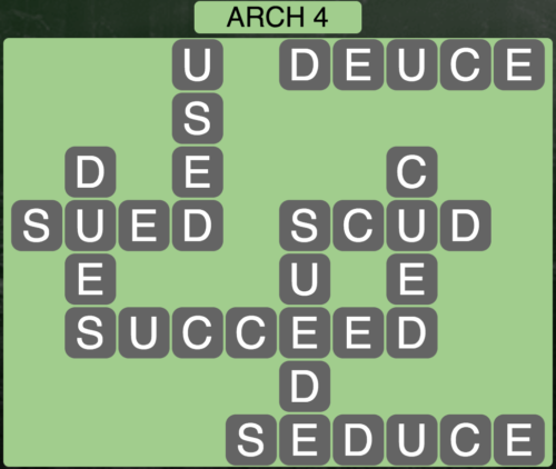 Wordscapes Arch 4 - Level 1588 Answers