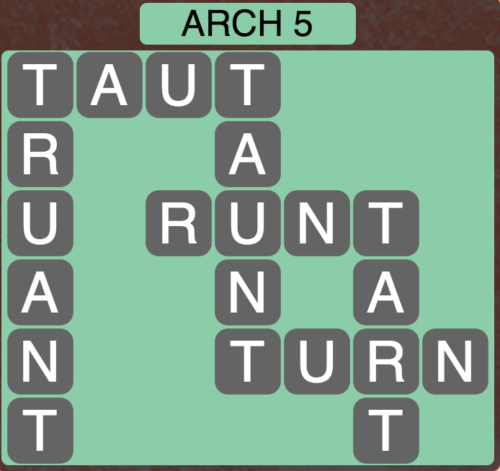 Wordscapes Arch 5 - Level 1589 Answers