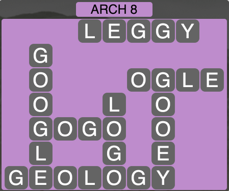Wordscapes Arch 8 - Level 1592 Answers