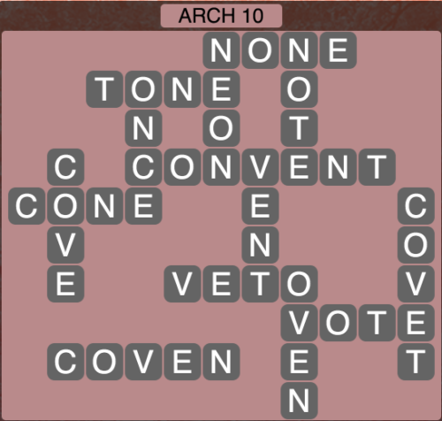 Wordscapes Arch 10 - Level 1594 Answers