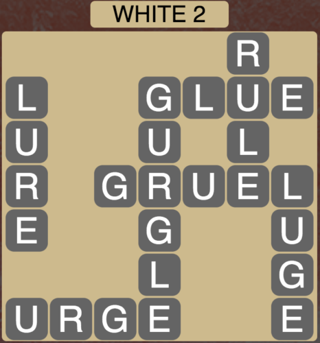 Wordscapes White 2 - Level 1602 Answers