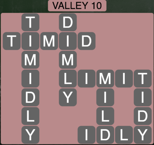 Wordscapes Valley 10 - Level 1626 Answers