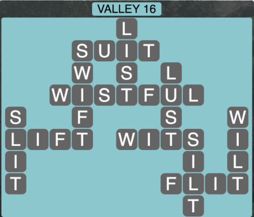 Wordscapes Valley 16 - Level 1632 Answers