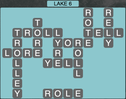 Wordscapes Lake 6 - Level 1638 Answers
