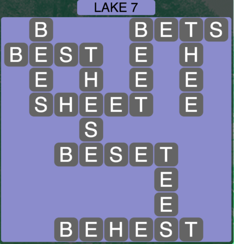 Wordscapes Lake 7 - Level 1639 Answers