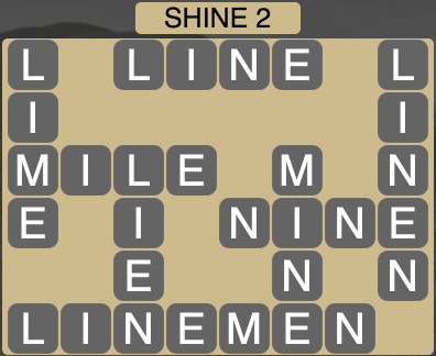 Wordscapes Shine 2 - Level 1666 Answers