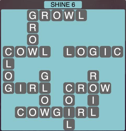 Wordscapes Shine 6 - Level 1670 Answers
