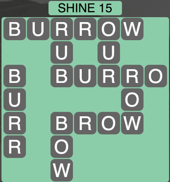 Wordscapes Shine 15 - Level 1679 Answers
