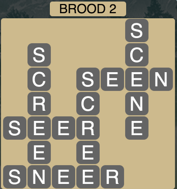 Wordscapes Brood 2 - Level 1730 Answers
