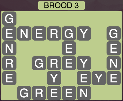 Wordscapes Brood 3 - Level 1731 Answers