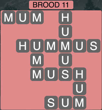 Wordscapes Brood 11 - Level 1739 Answers