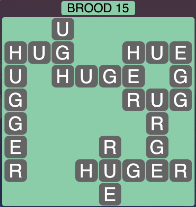 Wordscapes Brood 15 - Level 1743 Answers