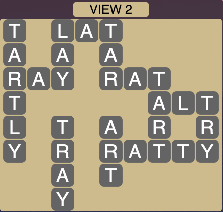 Wordscapes View 2 - Level 1746 Answers