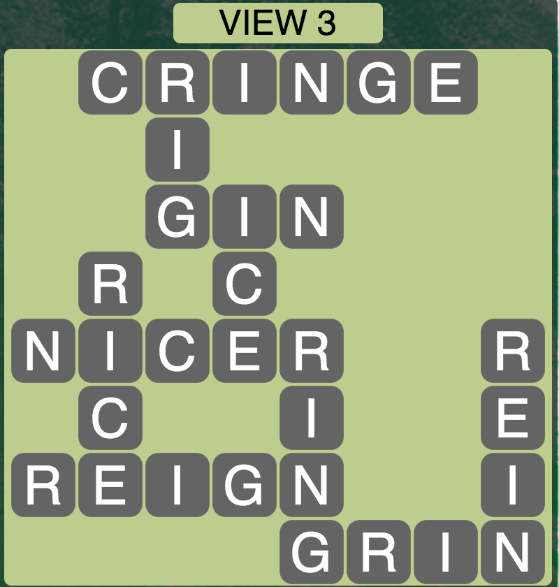 Wordscapes View 3 - Level 1747 Answers
