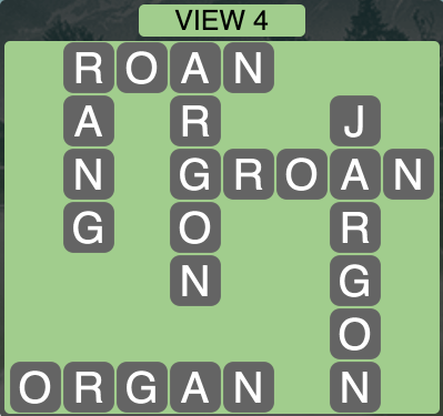 Wordscapes View 4 - Level 1748 Answers