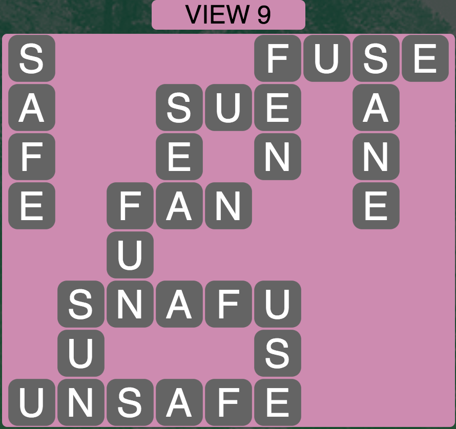 Wordscapes View 9 - Level 1753 Answers