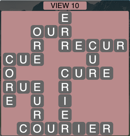 Wordscapes View 10 - Level 1754 Answers