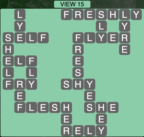 Wordscapes View 15 - Level 1759 Answers