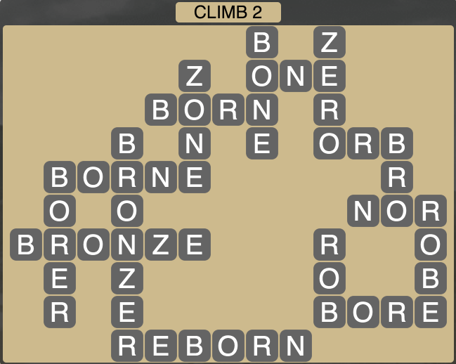 Wordscapes Climb 2 - Level 1762 Answers