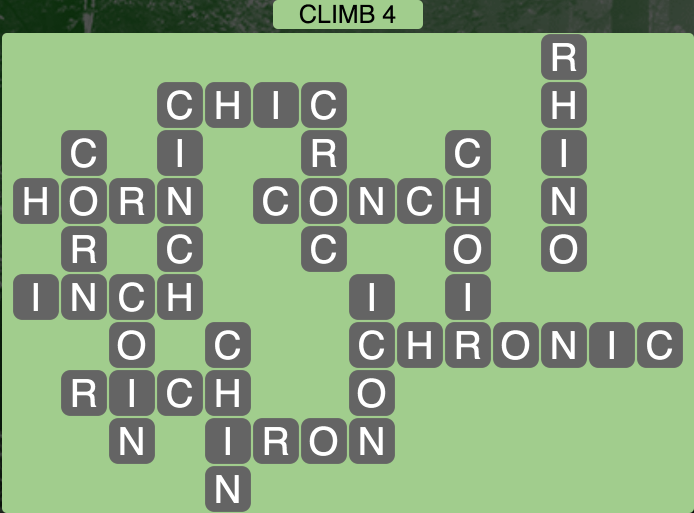 Wordscapes Climb 4 - Level 1764 Answers