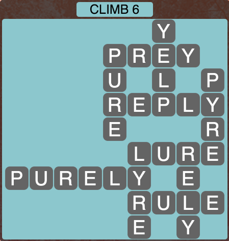 Wordscapes Climb 6 - Level 1766 Answers