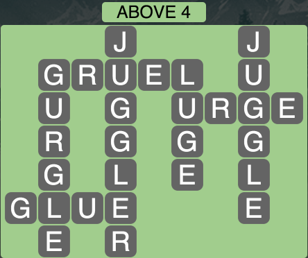 Wordscapes Above 4 - Level 1780 Answers