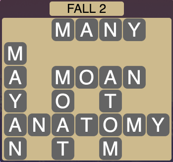 Wordscapes Fall 2 - Level 1794 Answers