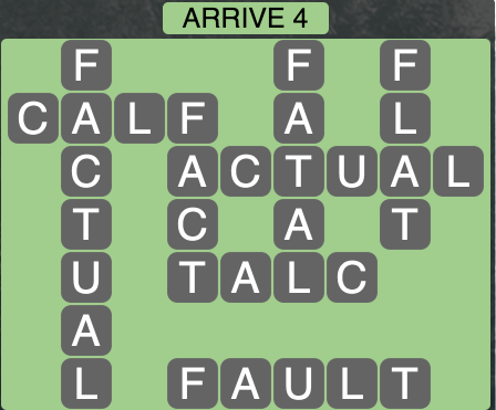 Wordscapes Arrive 4 - Level 1828 Answers