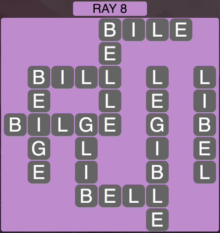 Wordscapes Ray 8 - Level 1848 Answers