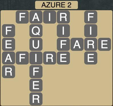 Wordscapes Azure 2 - Level 1858 Answers