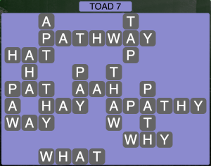 Wordscapes Toad 7 - Level 1879 Answers