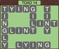 Wordscapes Toad 14 - Level 1886 Answers