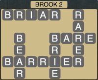 Wordscapes Brook 2 - Level 1890 Answers