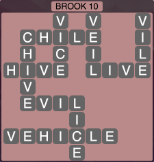Wordscapes Brook 10 - Level 1898 Answers