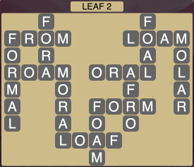 Wordscapes Leaf 2 - Level 1906 Answers