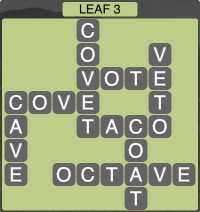 Wordscapes Leaf 3 - Level 1907 Answers