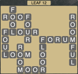 Wordscapes Leaf 12 - Level 1916 Answers