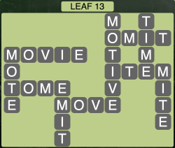 Wordscapes Leaf 13 - Level 1917 Answers