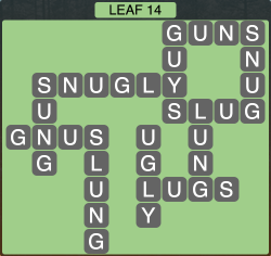 Wordscapes Leaf 14 - Level 1918 Answers