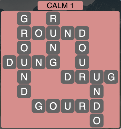 Wordscapes Calm 1 - Level 1921 Answers