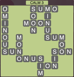 Wordscapes Calm 3 - Level 1923 Answers
