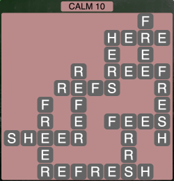 Wordscapes Calm 10 - Level 1930 Answers