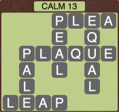 Wordscapes Calm 13 - Level 1933 Answers