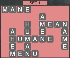 Wordscapes Formation Set 1 - Level 1937 Answers