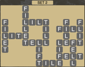Wordscapes Formation Set 2 - Level 1938 Answers