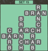 Wordscapes Formation Set 15 - Level 1951 Answers