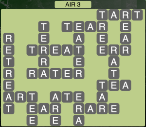 Wordscapes Formation Air 3 - Level 1971 Answers