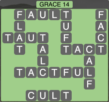 Wordscapes Formation Grace 14 - Level 1998 Answers